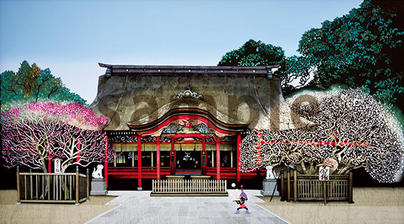 光の芸術人・藤城清治さんの影絵版画(直筆サイン入り)を特別に有償頒布します!